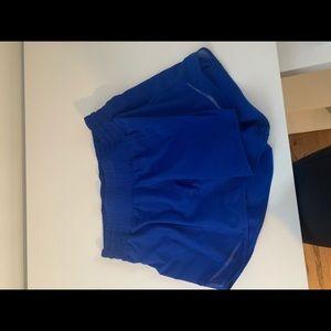 """Blue Hotty hot lululemon shorts 4"""""""